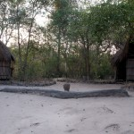 Bathroom huts