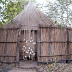 Shower hut